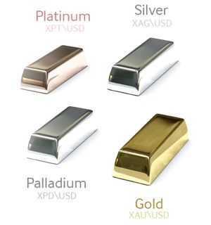 oro, paladio,