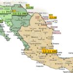 Zonas Horarias en Mexico