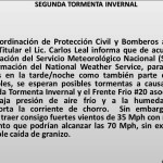 Tormenta en Reynosa
