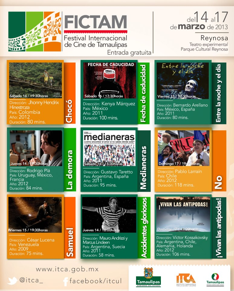 FIC Tamaulipas calendario