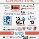 Los consejos para mantenerte creativo y mantenerte activo
