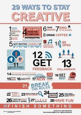 Tips para ser Creativo