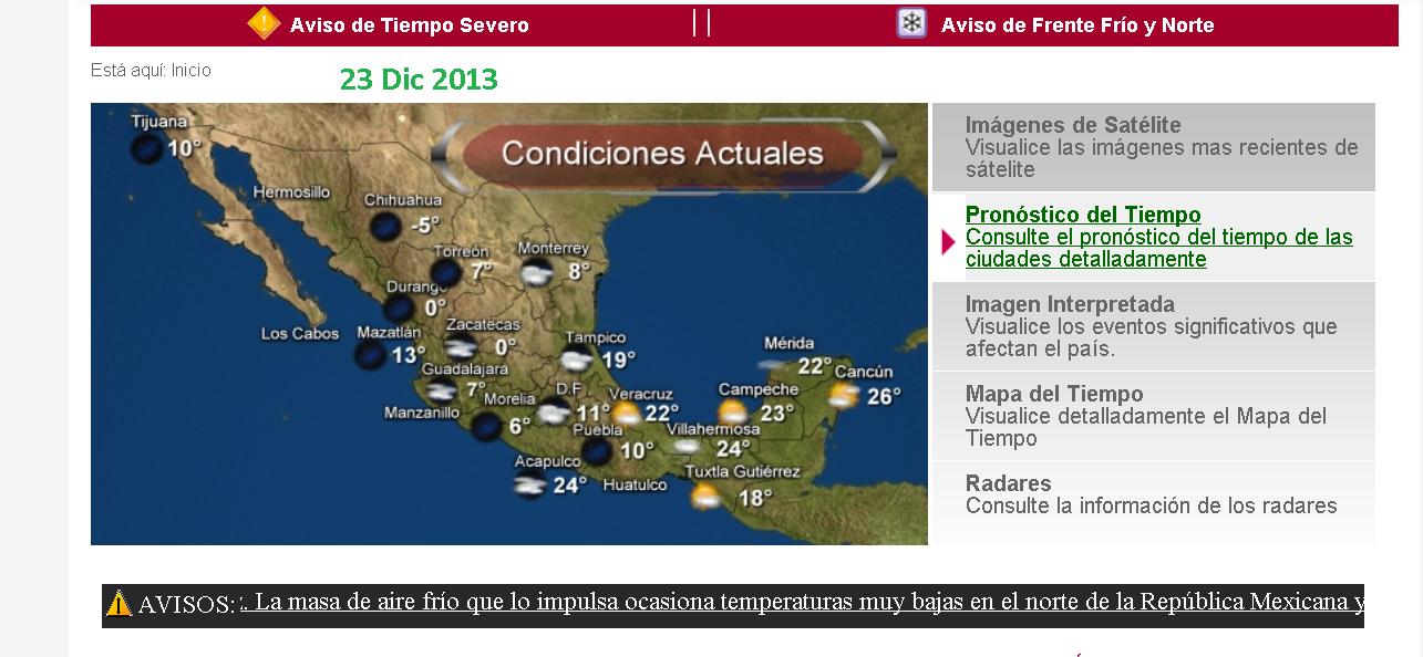 Pronostico del tiempo para reynosa y tamaulipas reynosa for Pronostico del tiempo accuweather