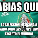 La selección Mexicana campeón del mundo en ingresos, por la gran cantidad de partidos en USA