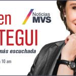 Carmen Aristegui desde internet conduce el programa de noticias mas escuchado en toda la Republica Mexicana