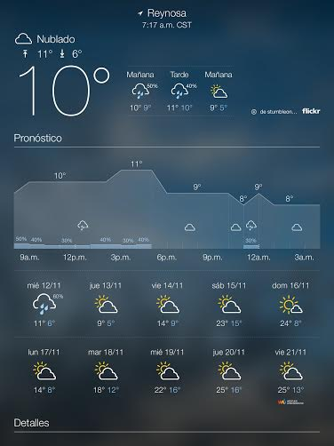 Apps clima