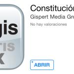Descarga GRATIS la aplicación para conocer la Constitución Política Maxicana directo a tu iPad o iPhone