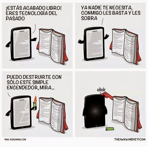 tablets vs libros