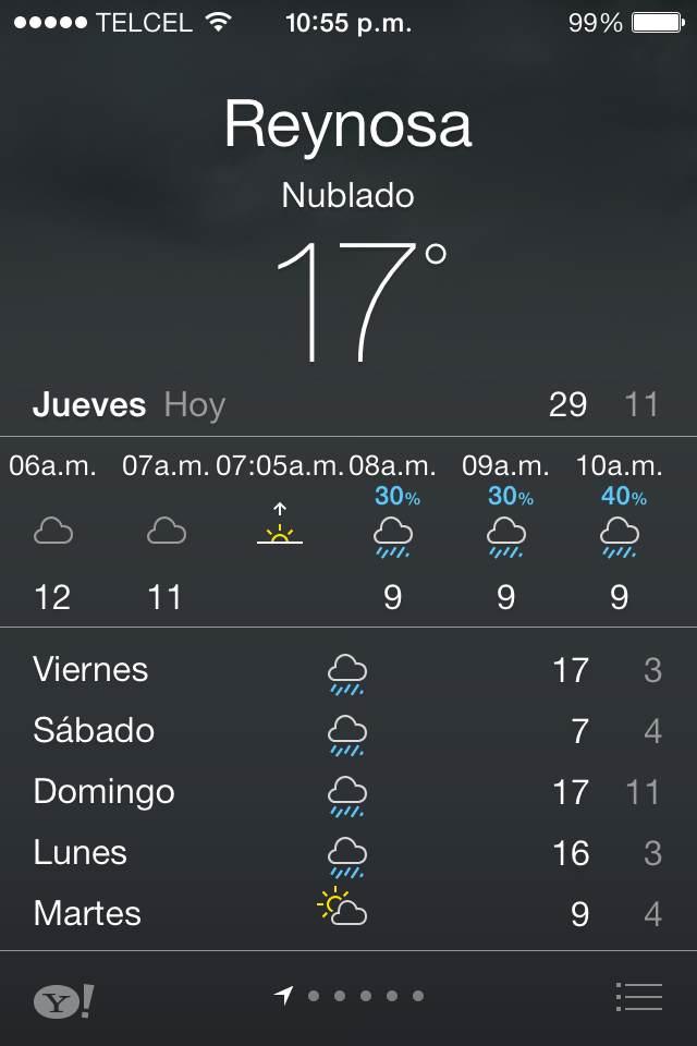 Clima en Reynosa