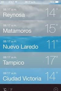 pronostico del tiempo en Reynosa