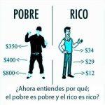 dinero y pobreza