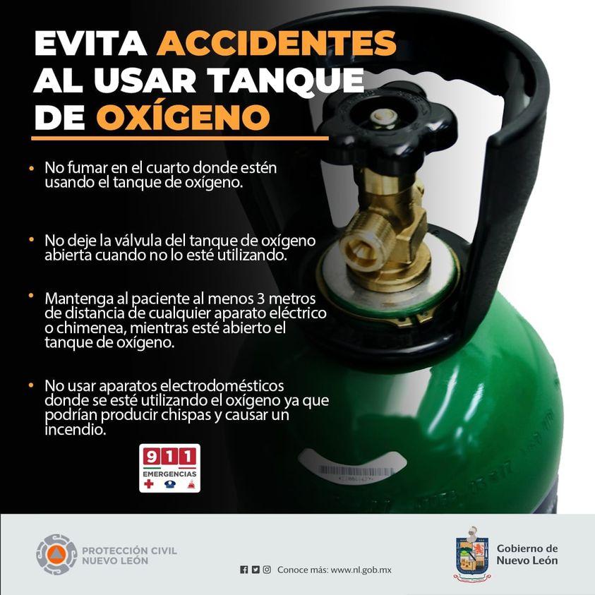 venta de tanques de oxigeno para pacientes con coronavirus