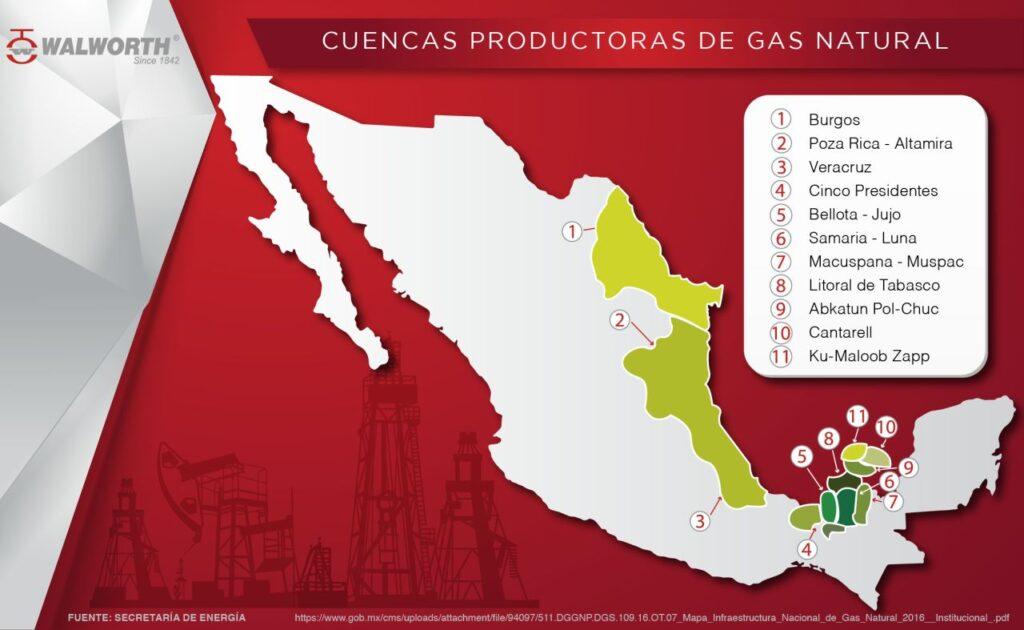 cuenca de Burgos Tamaulipas