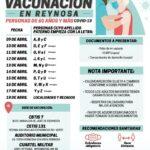 Vacunación en Reynosa